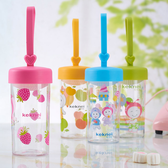 China wholesale BPA free plastic shool water bottle for kids