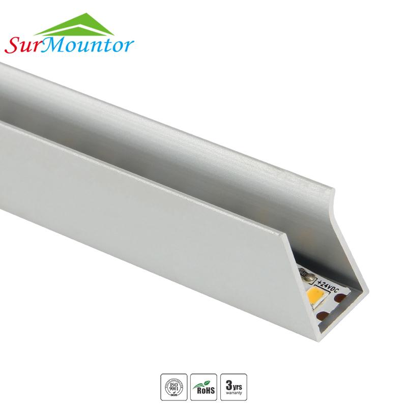 Mensole In Vetro Luminose.Mensola Di Vetro Led Profilo In Alluminio Led Profilo Per 8mm