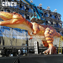 Outdoor Attrezzature del <span class=keywords><strong>Parco</strong></span> di <span class=keywords><strong>Divertimenti</strong></span> Animatronic T-rex Dinosauri <span class=keywords><strong>Giocattoli</strong></span>