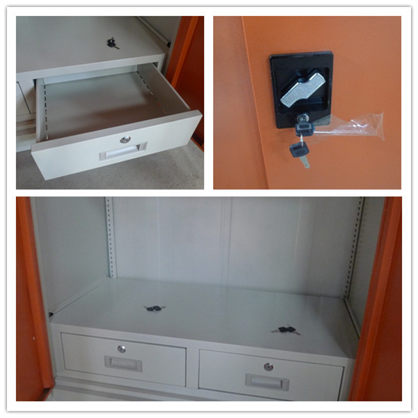 Portable Closet Drawing Room Corner Wardrobe Almirah