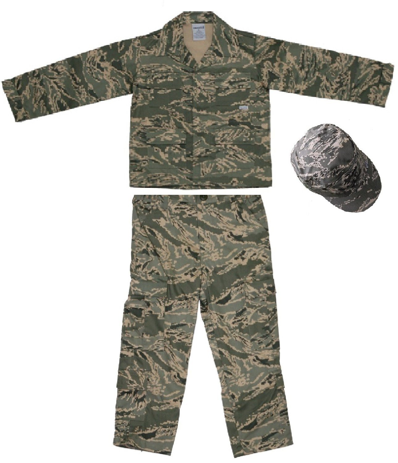 1ac05e6643221 Get Quotations · USAF Kids ABU US Air Force Authentic Military Battle  Uniform 3 pc Small 6-8
