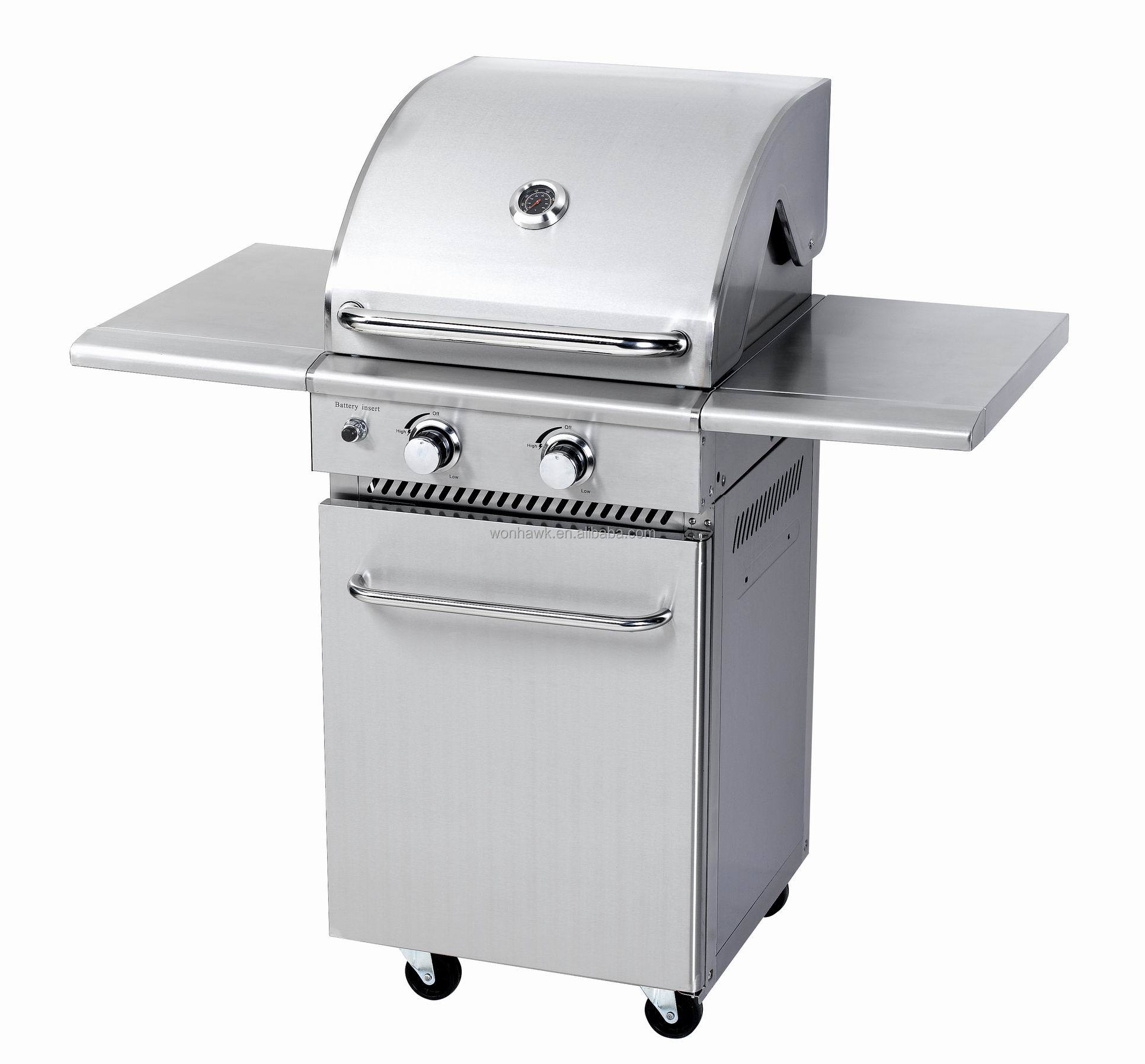 Grills & Outdoor Cooking Aga Approval Gas Grill With Folding Side ...