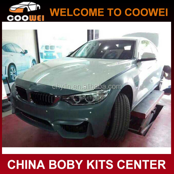 14-15 M4 Style FRP New 4 Series M4 Car Bodykit For BMW F32 428i 4235i