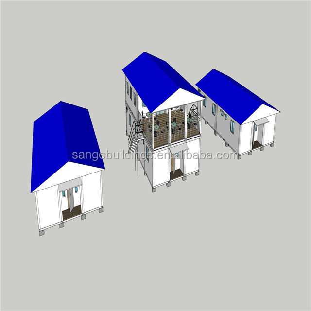 Quick build houses prefabricated living houses staff dormitory