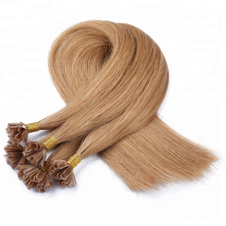 Remy human hair extension U tip wholesale for hair salon