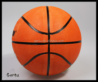 size 1 promotional rubber basketball