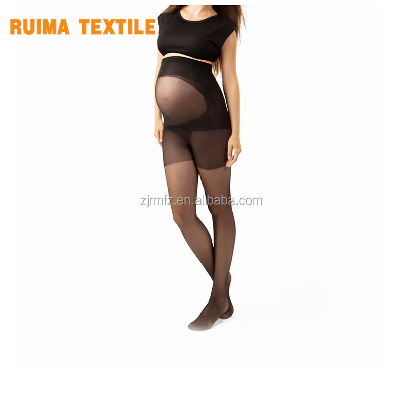 RM-122125-B pregnant women pantyhose pantyhose for pregnant woman croRMhless pantyhose