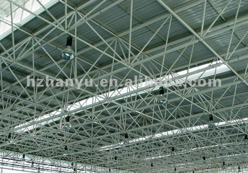 Space Frame Grid Structure - Buy Space Frame Steel Structure,Space ...