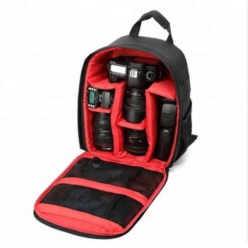 Professional travelling anti theft dslr camera bags backpack