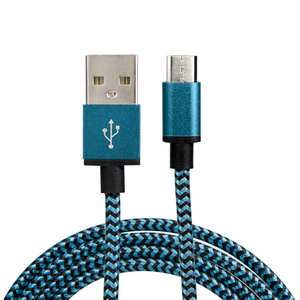 2019 amazon top seller 6ft  braided usb charging cable 2.4A fast charge