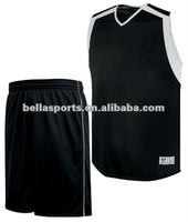 100% Polyester Mesh/Interlock Basketball Uniform Fashion