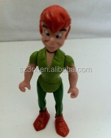 PETER PAN Mini Action-Spielfiguren Kinder Cartoon, OEM Mini-Cartoon-Figur