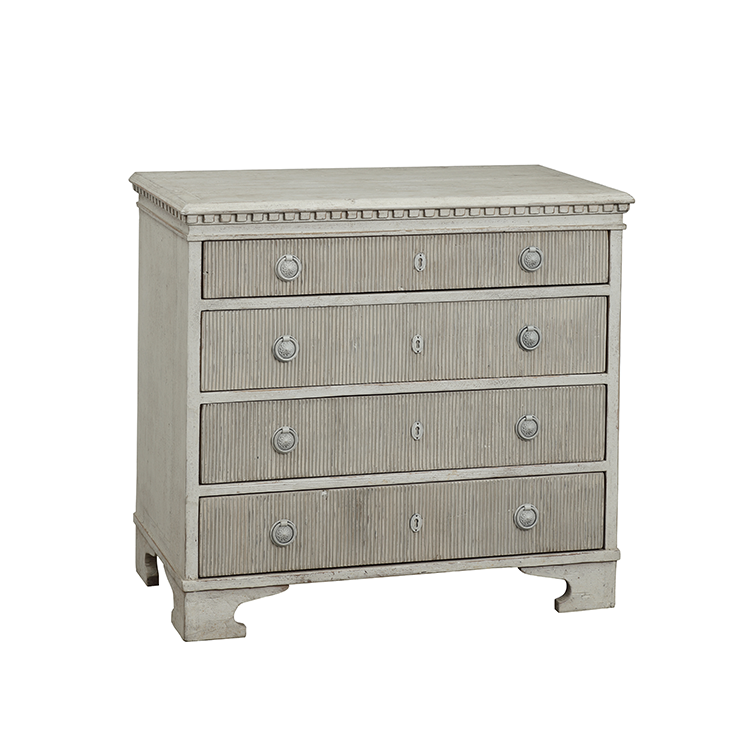 Delicieux Scandinavian Mid Century Home Furniture Hand Painted Reproduction Wooden  Chest Of Drawers