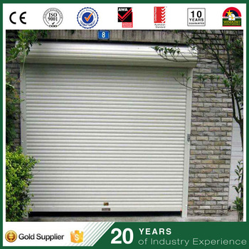 Cheap Lightweight French Automatic Rollup Garage Door Roller Type
