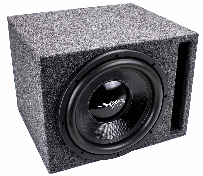 Absolute SKS12V Single 12-Inch Solo-Baric Square Slot-Ported Sub Box Absolute USA Inc.