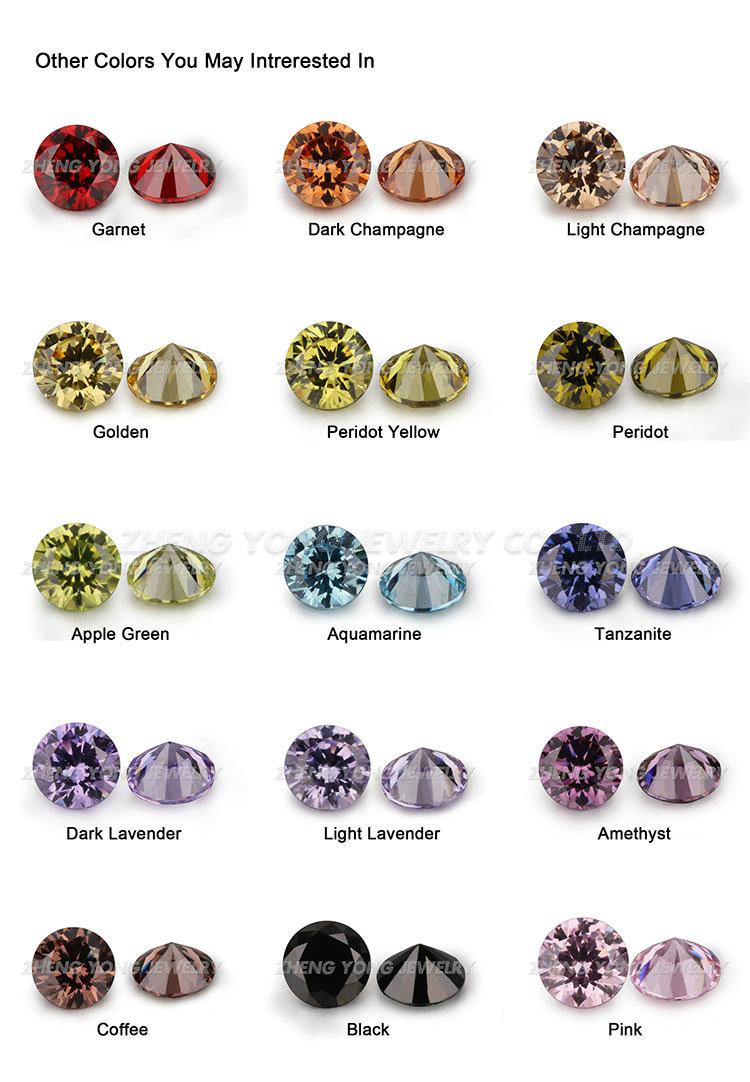 Synthetic Diamond Price Per Carat/cubic Zirconia Loose Stone/fancy ...