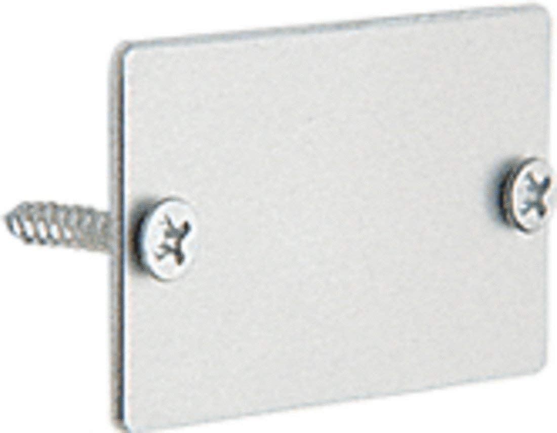 C.R. LAURENCE PB015A CRL Satin Anodized Two-Piece Snap In Sash End Cap