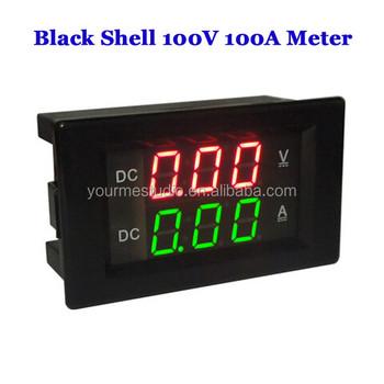 Schema Elettrico Voltmetro Per Auto : Fabbrica direttamente yb4835va dc 100v 100 led amplificatore