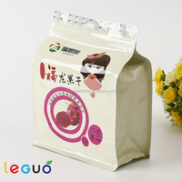 High quality cheap dry fruit aluminum foil zipper food packing bags