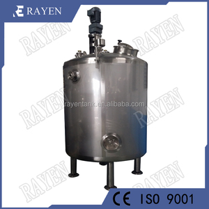 Food grade stainless steel jacketed tank heating oil tank