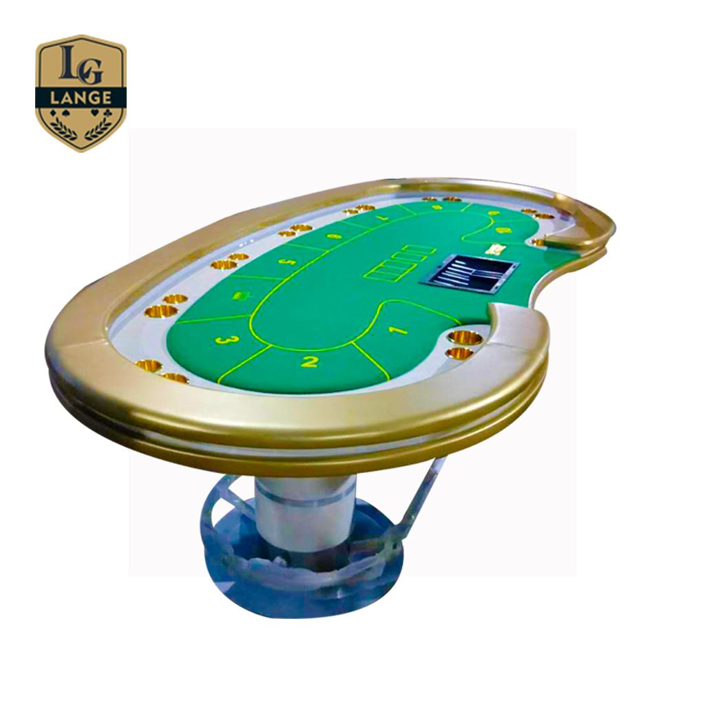 Wholesale Luxury Texas Poker Table Led Light Electronic ...