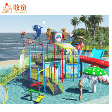 water park/aqua plays/kids water playground