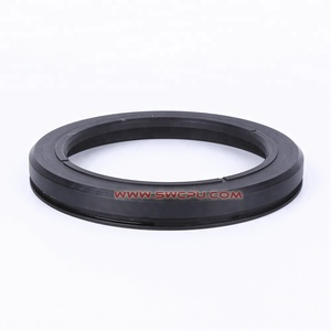 Fireproof fkm rubber flat elastomer oil seal ring