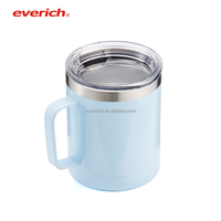 2018 Everich 10oz tumbler with handle double walled