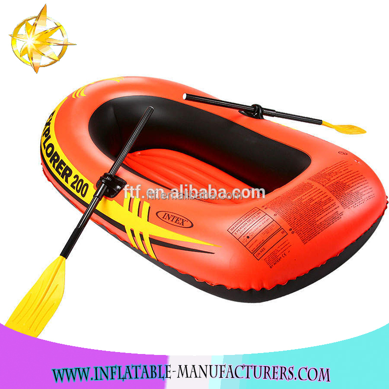 2017 Hot Sale High Quality PVC Red Inflatable Kayaks,red inflatable boat