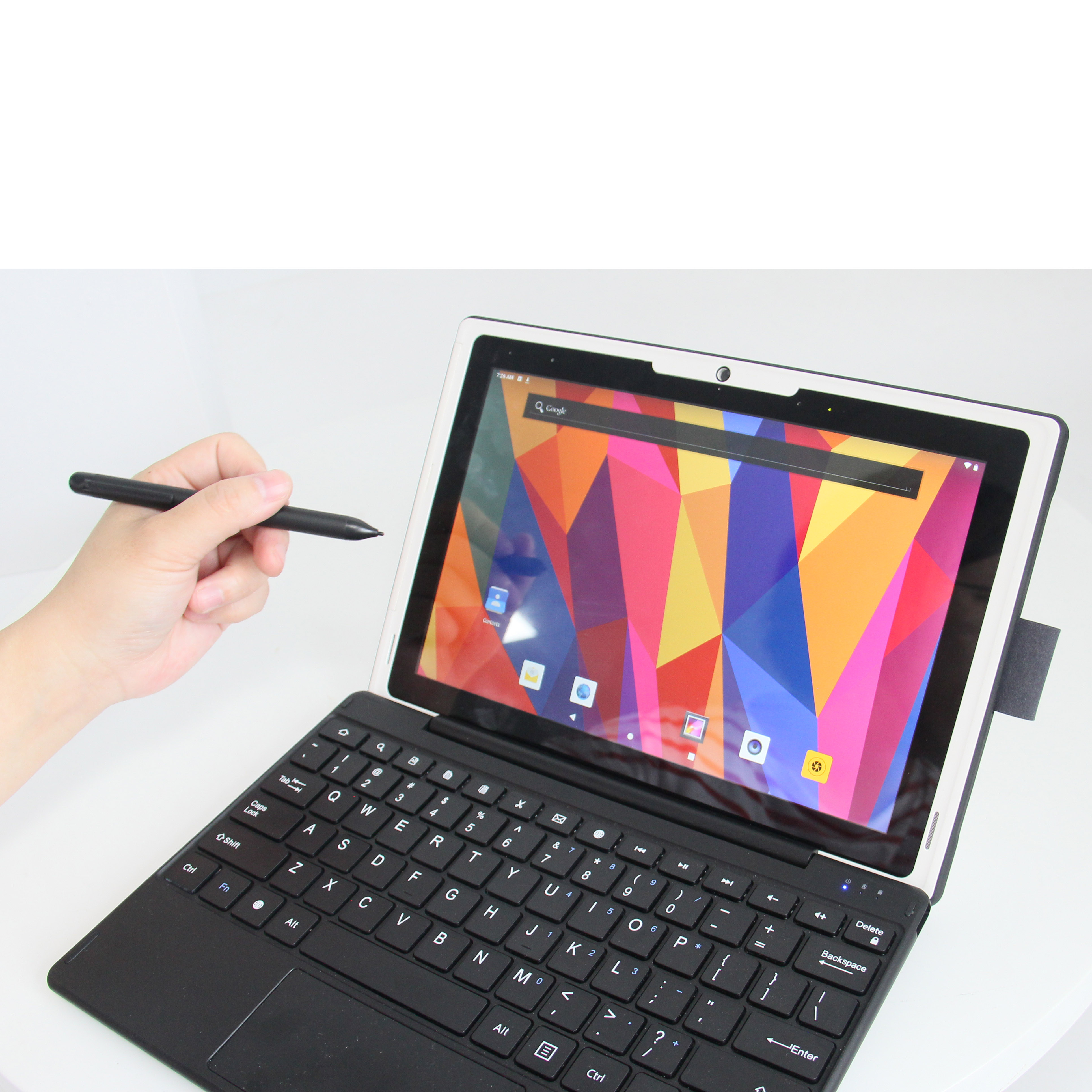 10 inch android tablet pc with stylus 2 in 1 educational tablet pc with pen tablet pc with keyboard
