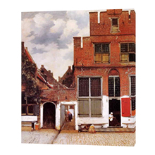 High quality reproductions canvas delft vermeer famous calssical art oil painting with frame