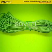Low price newest white solid braided nylon rope