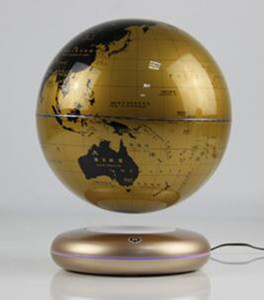 rotating ufo magnetic floating levitron bottom globe 8 inch for decor and gift