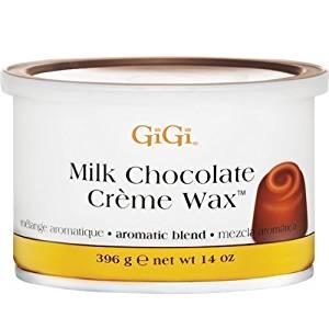 Gigi Milk Chocolate Creme Wax, Milk Chocolate, 14 Ounce by GiGi