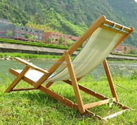 2014 newest hot sales bamboo folding swing chair