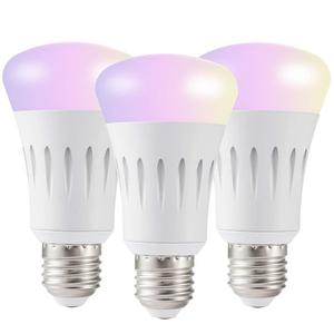 Hotel lighting E17 smart led bulb color changing and dimmable