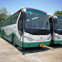 90%new luxury bus prices yutong bus with 53 seats