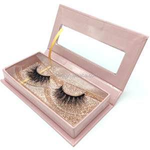 3d mink eyelash and custom package with private label premium mink lashes wholesale 3d Mink eyelash