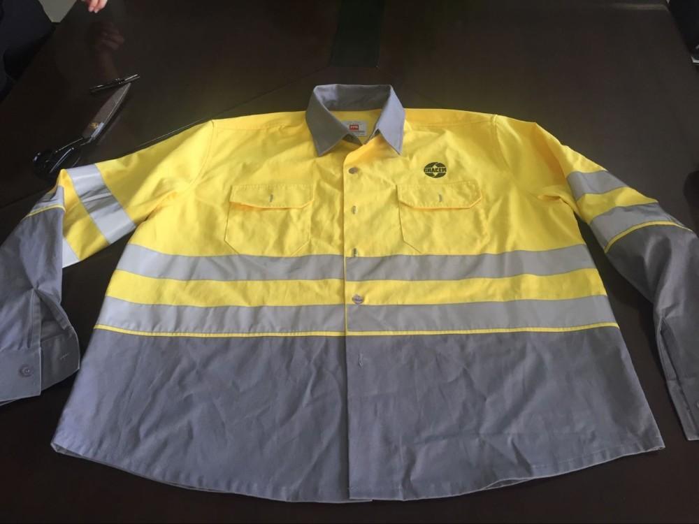 Wholesale Hi Vis Clothing Cheap Reflective Work Shirts