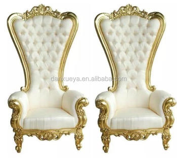 Exceptional Danxueya  White Wholesale Throne Chairs Luxury Wedding