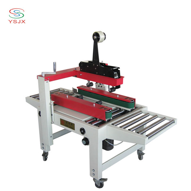 Hot sale up and down driven carton sealing machine for sale