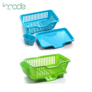 IMODE Customized new arrival Kitchen used plastic dish drying rack