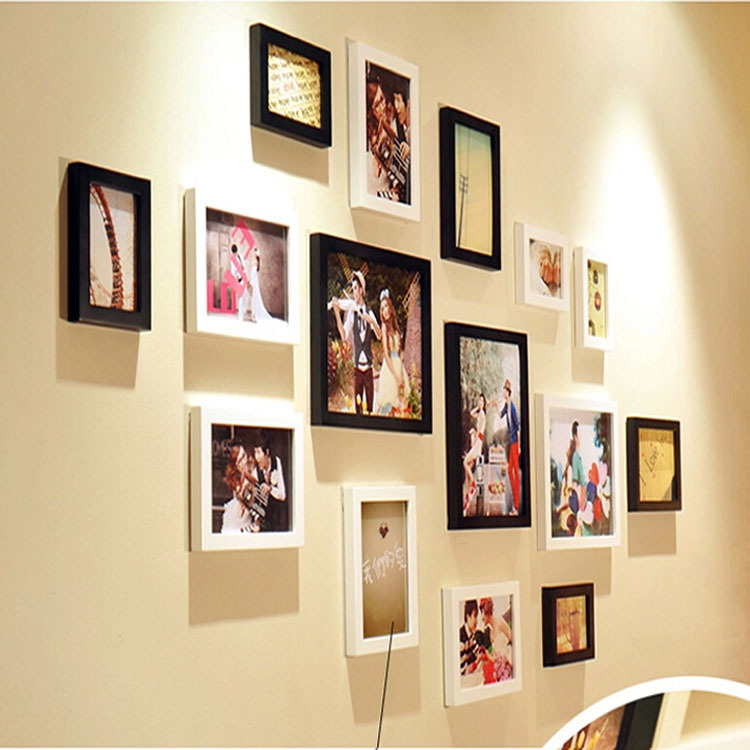 Gorgeous 90 wall photo frames design inspiration of best for Unique wall frames