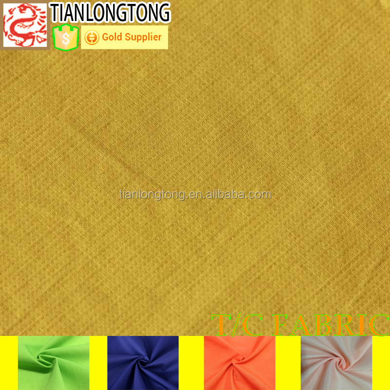 cotton polyester spandex jeans fabric/fabric cotton lycra polyester/90/10 polyester cotton fabric