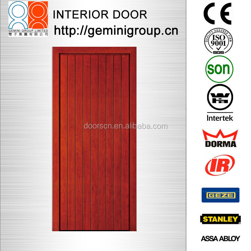SOLID WOODEN FLUSH VENEER BATHROOM DOOR
