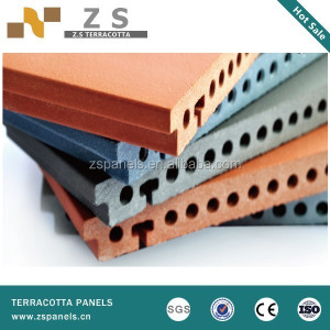 11020859 Light weight environment friendly gfrc exterior wall panel terracotta facade sliding panel