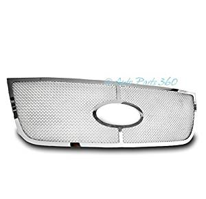ZMAUTOPARTS Ford EXpedition Front Upper Stainless Steel Mesh Grille Grill Chrome