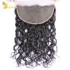 Unprocessed Brazilian Human Hair Water Wave13*6 Ear To Ear Full Lace Frontal With Baby Hair