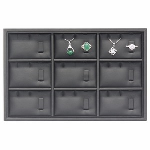 Counter Shop Pendant Ring Bracelet Charms Display Jewelry Tray