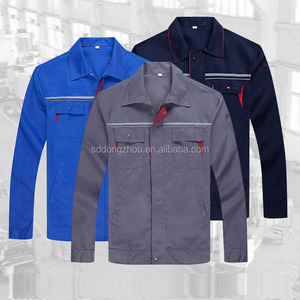Factory work clothes construction mechanic outdoor work uniform with logo